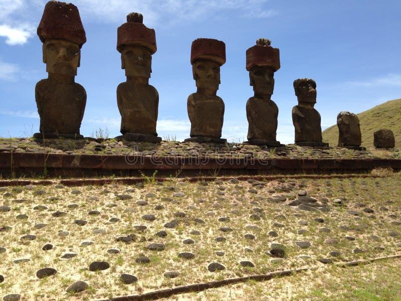 Moai royaltyfri foto