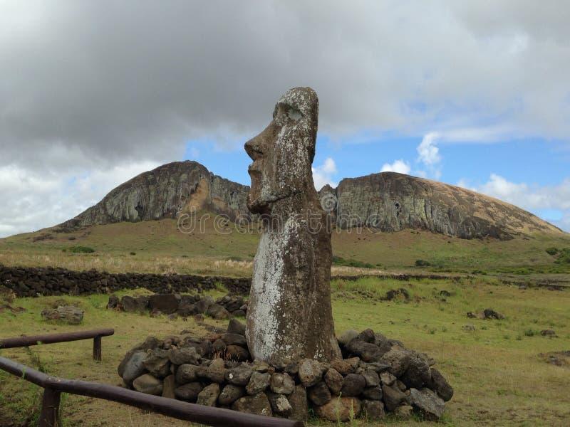 Moai royaltyfria bilder