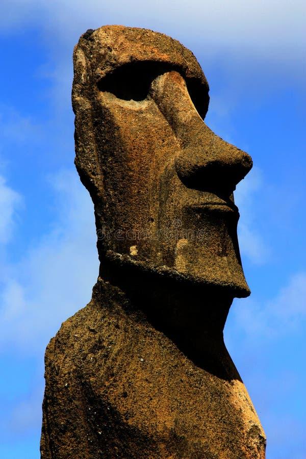 moai royaltyfria foton