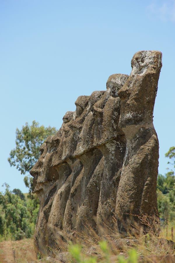 Moai 库存照片