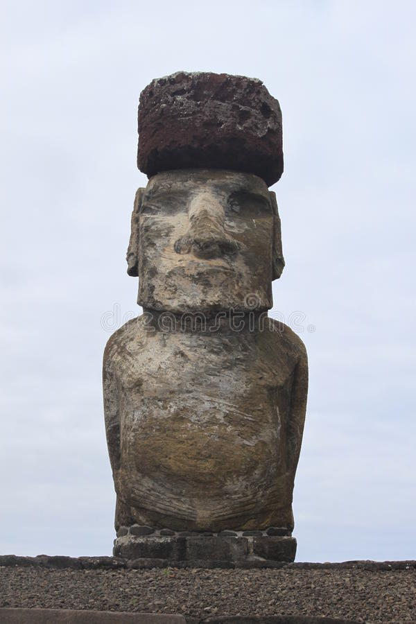 Download Moai on Easter Island stock image. Image of rare, artifacts - 18239797