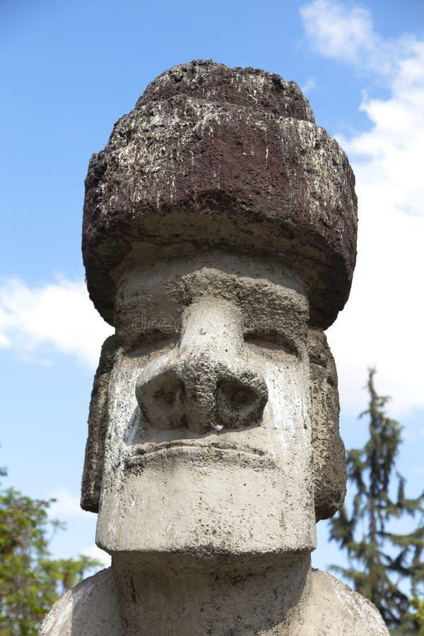 Moai head royalty free stock image