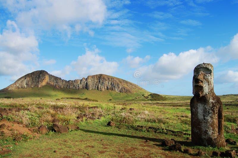 Moai - Ilha de Páscoa foto de stock royalty free