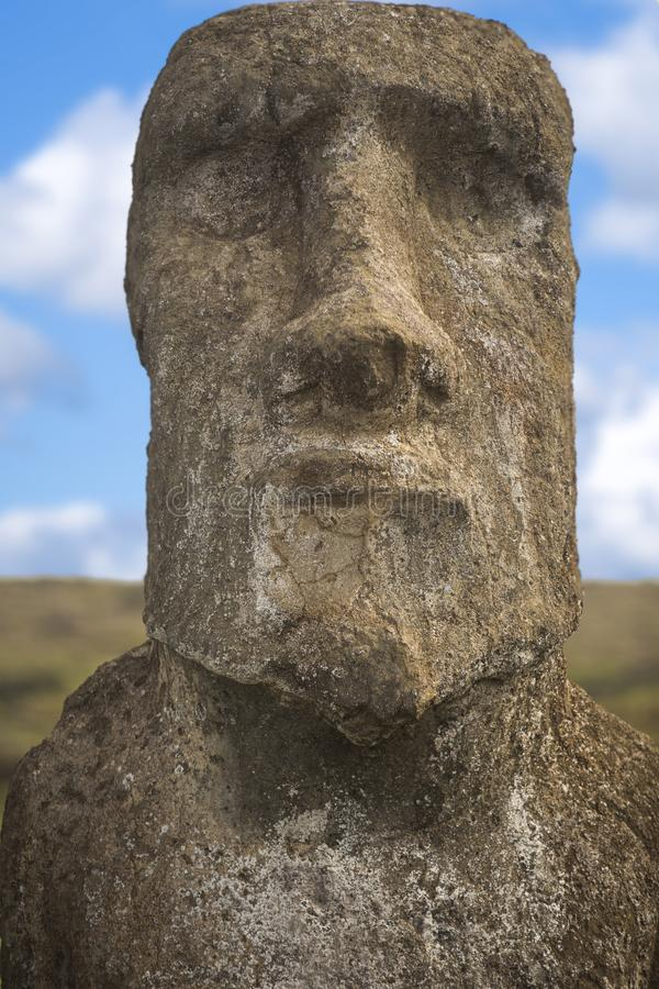 Easter island. Moais at Ahu Tongariki (Easter island, Chile stock images