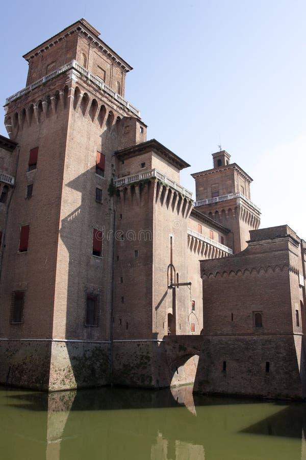 moat замока средневековый стоковые изображения