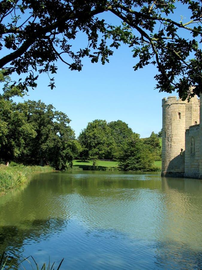 moat замока стоковая фотография