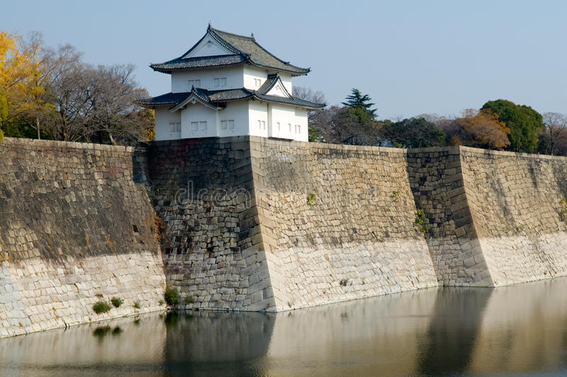 Download The moat stock photo. Image of defence, japanese, emperor - 12896122