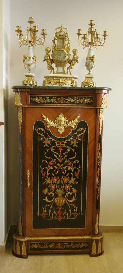 Mobília à antiga foto de stock