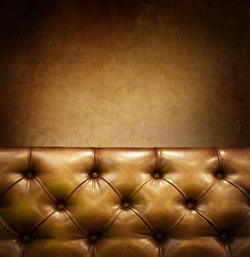 Mobília de couro fotografia de stock royalty free