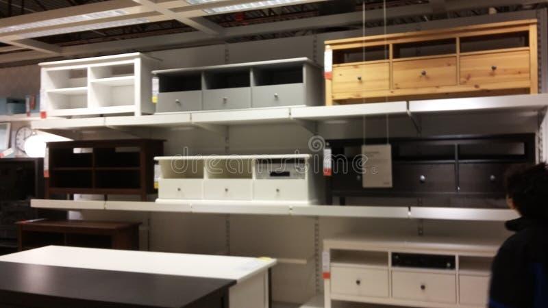 Mobília de Ikea foto de stock