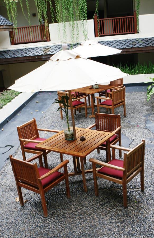 Mobília do jardim. imagens de stock
