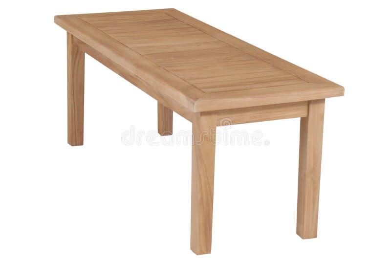 Mobília do jardim da teca, mobília do jardim, cadeira da teca fotografia de stock royalty free