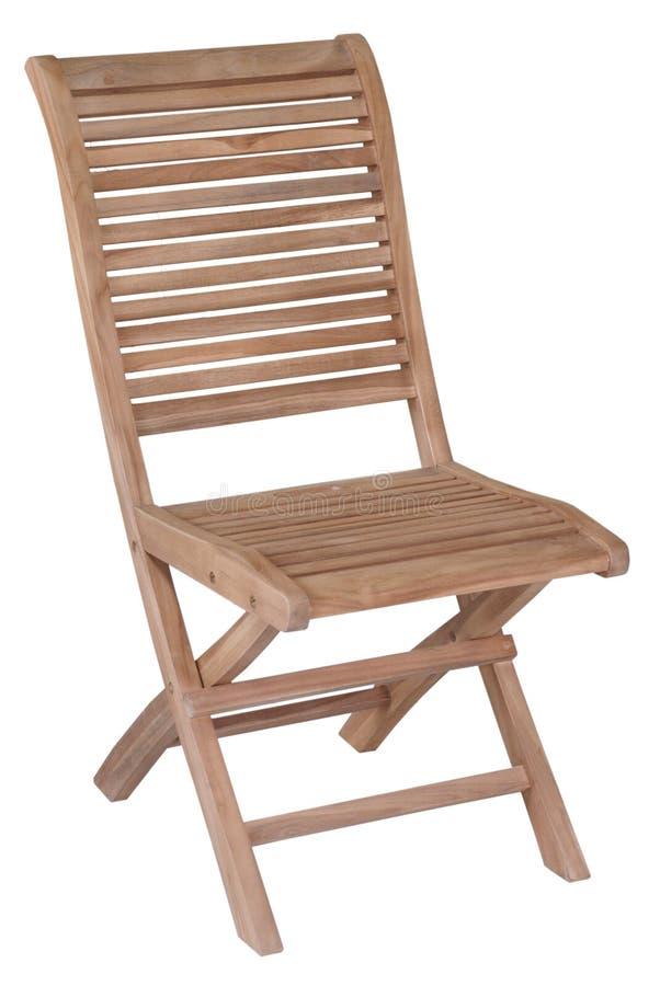 Mobília do jardim da teca, mobília do jardim, cadeira da teca fotografia de stock