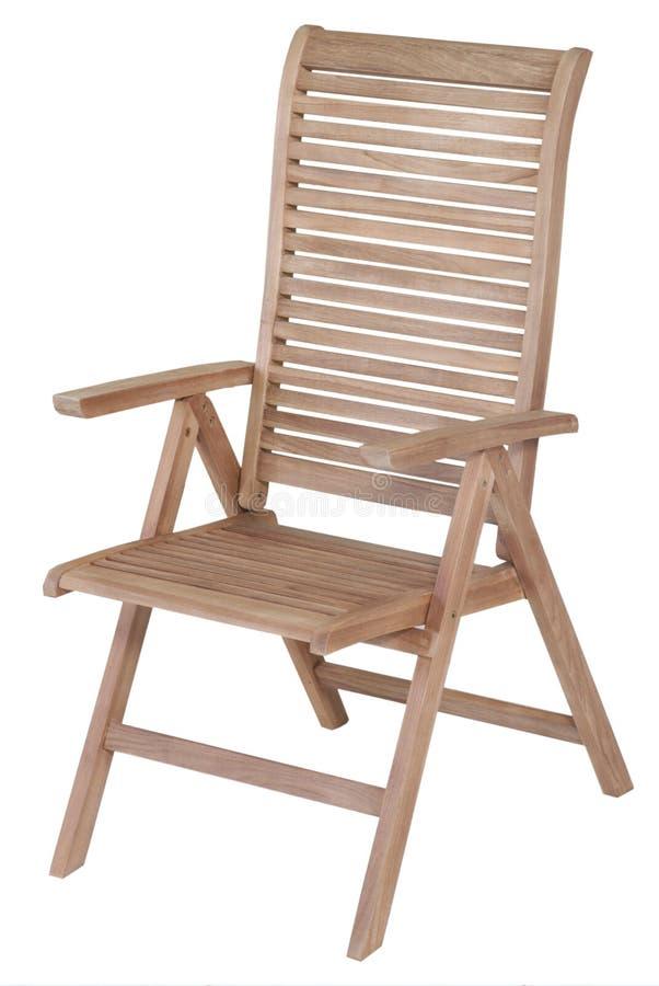 Mobília do jardim da teca, mobília do jardim, cadeira da teca imagem de stock royalty free