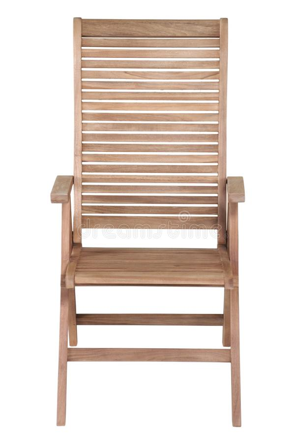 Mobília do jardim da teca, mobília do jardim, cadeira da teca imagens de stock