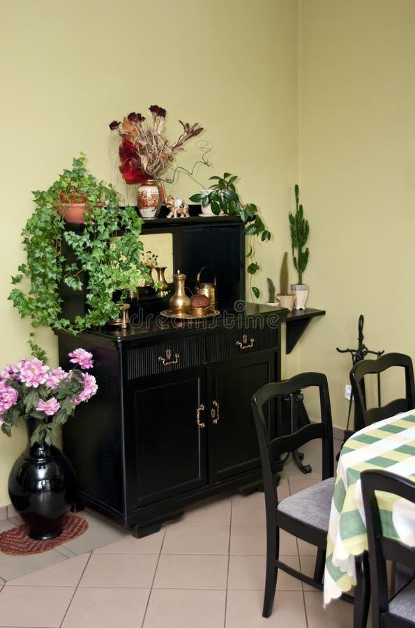Mobília Home do gabinete foto de stock royalty free