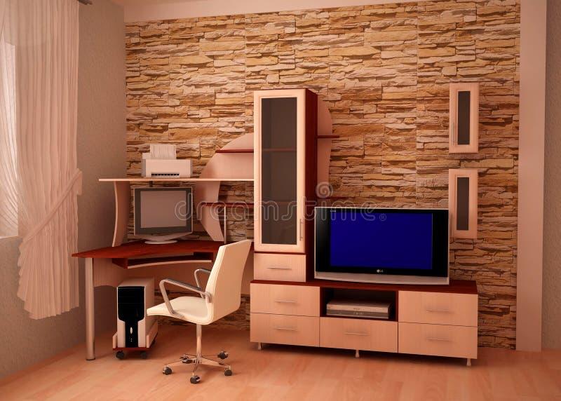 Mobília para a escumalha do estado da lagoa fotografia de stock