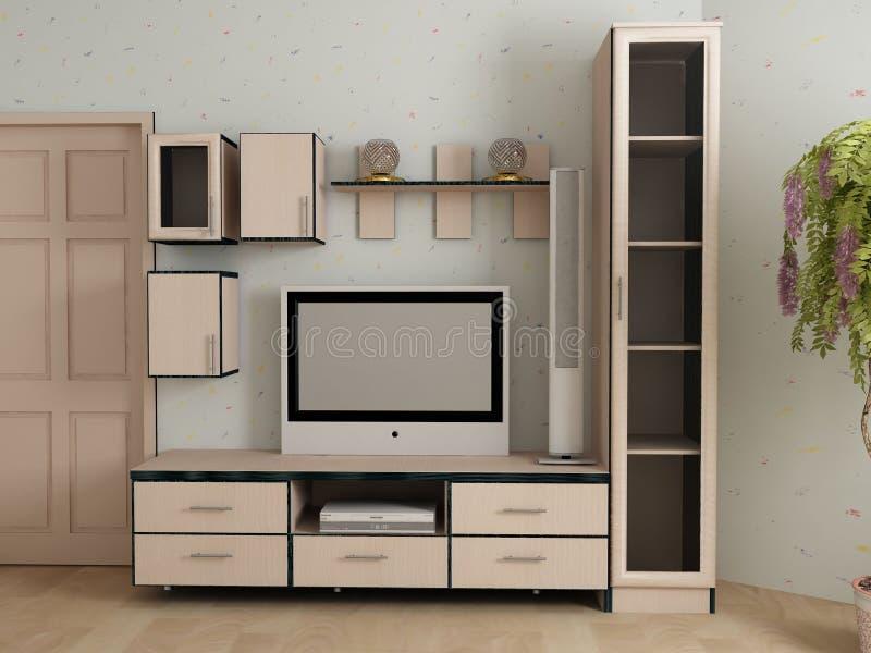 Mobília para um antechamber imagens de stock