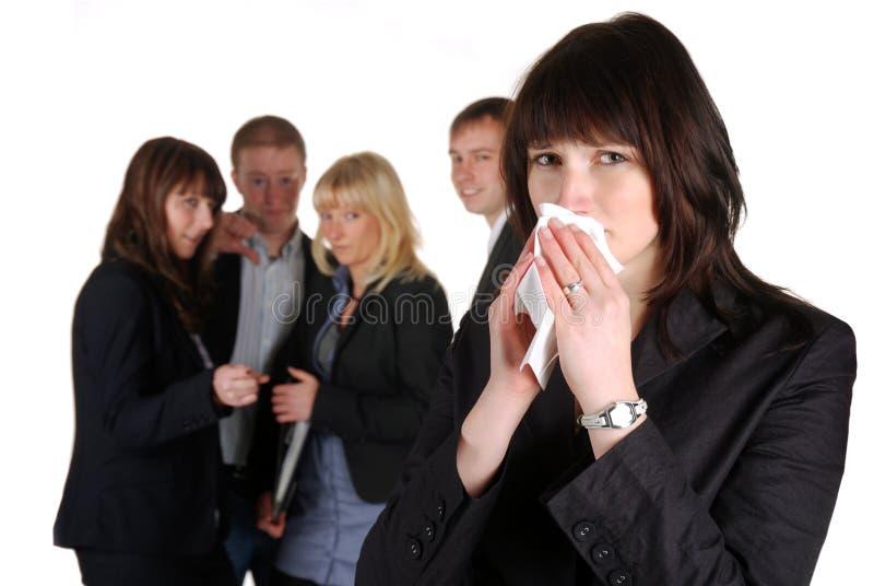 Download Mobbing stock photo. Image of girl, girls, blonde, group - 17563554