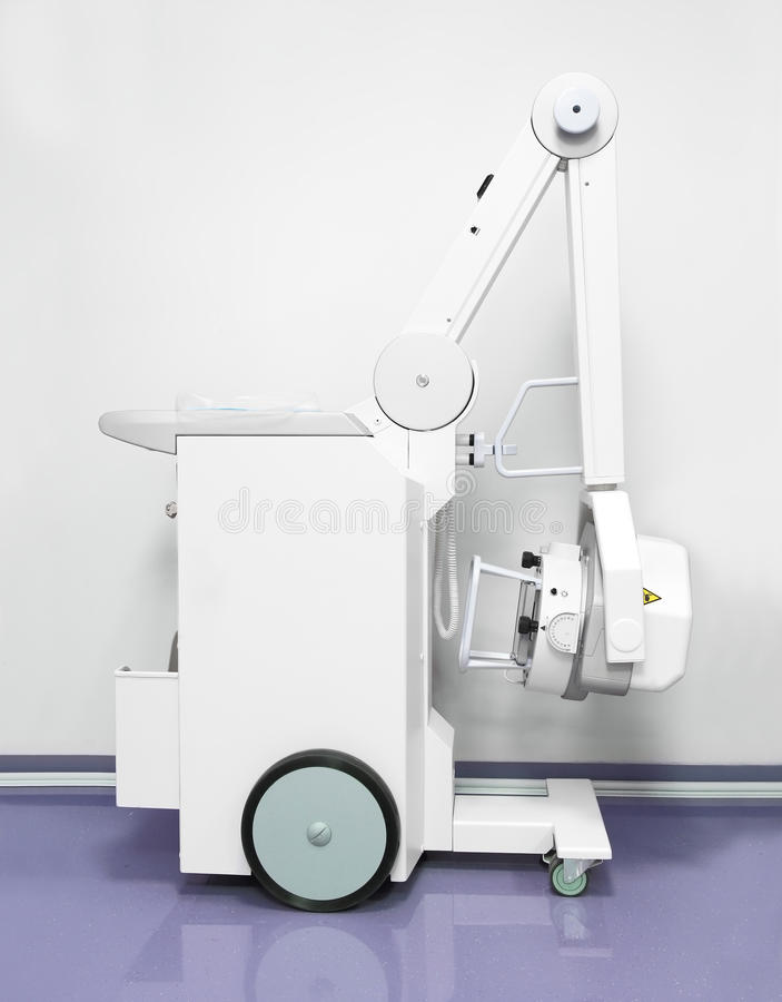 Mobiel Röntgenstraalmateriaal royalty-vrije stock foto