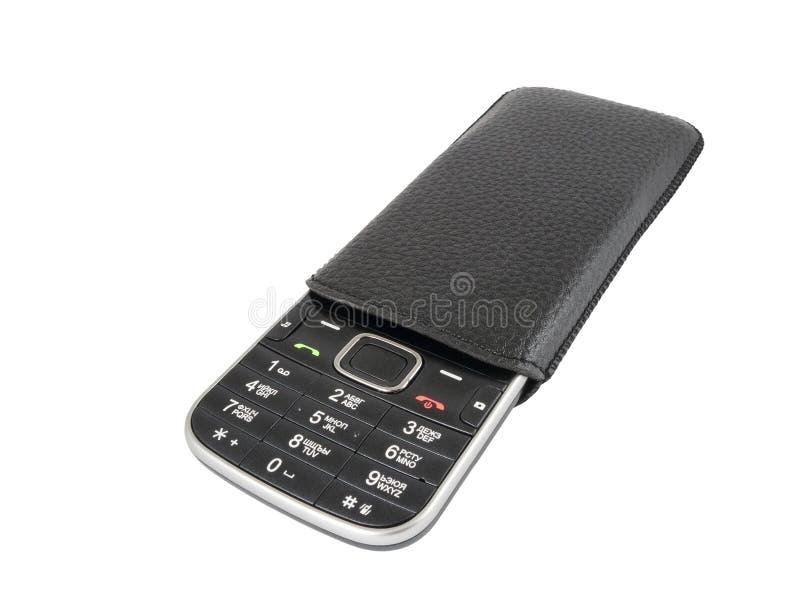 Mobiel telefoongeval stock afbeeldingen
