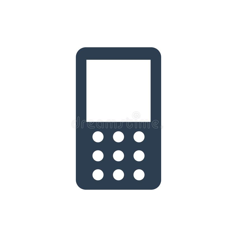 Mobiel telefoonpictogram stock illustratie