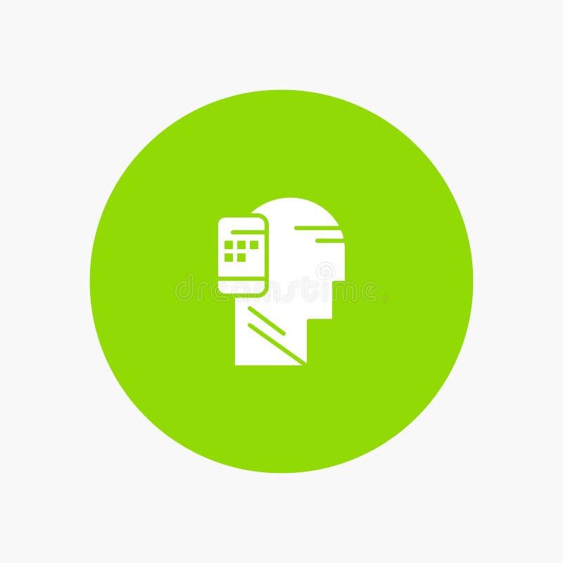 Mobiel Verbonden mededeling, Menselijk, Mobiliteit vector illustratie