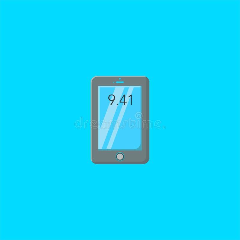 Mobiele embleemontwerp of illustratie symbooldan pictogram vectormalplaatje vector illustratie