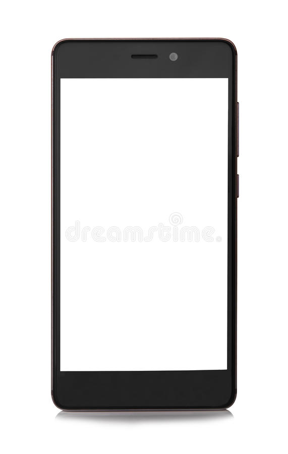 Mobiele geïsoleerdet telefoon royalty-vrije stock foto