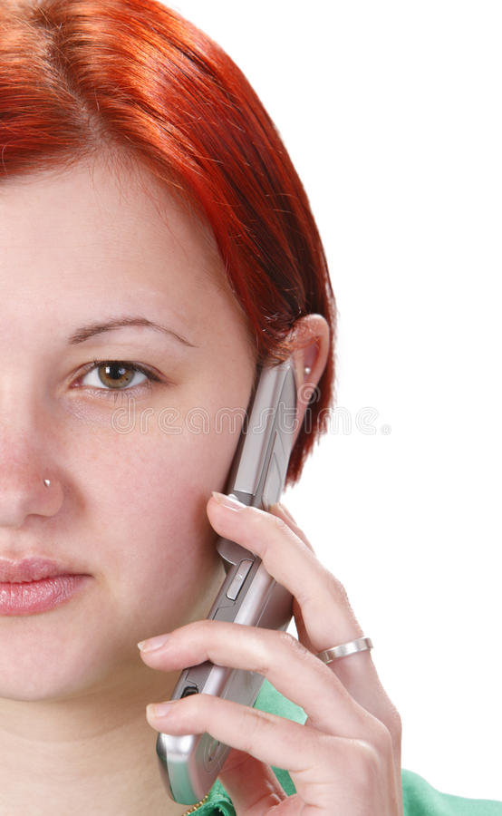 Mobiele technologie royalty-vrije stock afbeelding