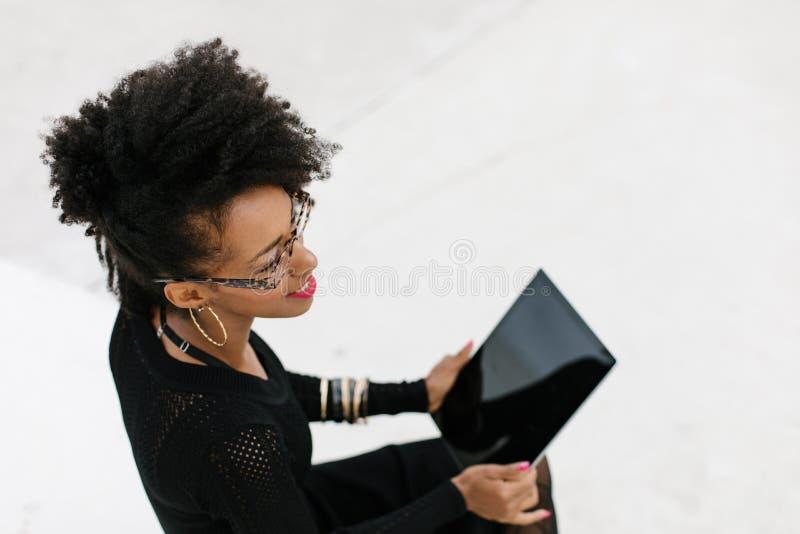 Mobiele technologie voor professioneel gebruik stock afbeelding