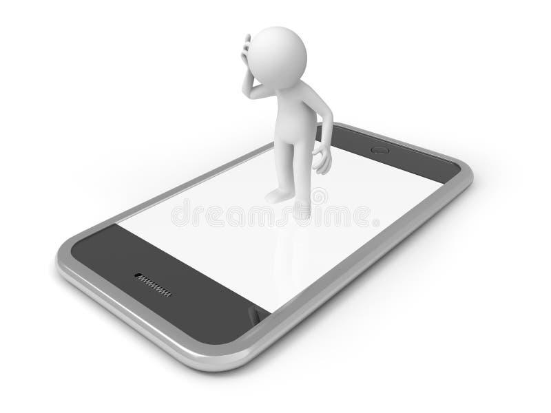 Mobiele telefoon vector illustratie