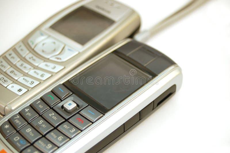 Mobiele telefoon #7 stock afbeelding