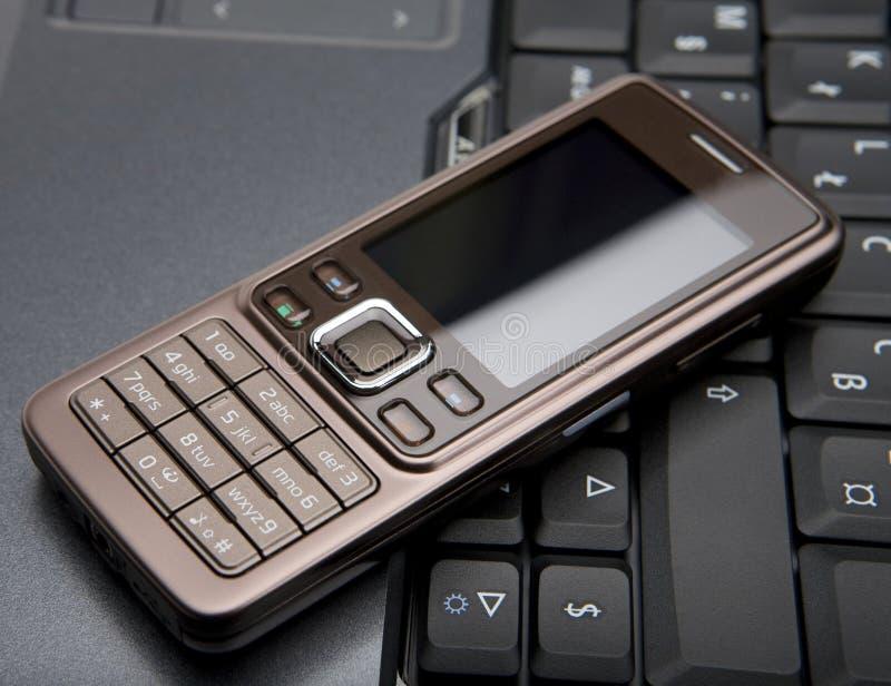 Mobiele telefoon royalty-vrije stock foto's