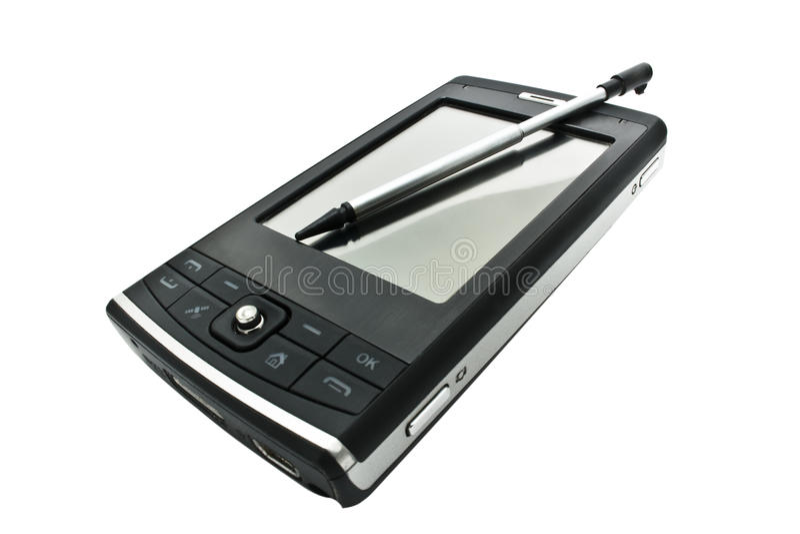 Mobiele telefoon PDA stock afbeelding