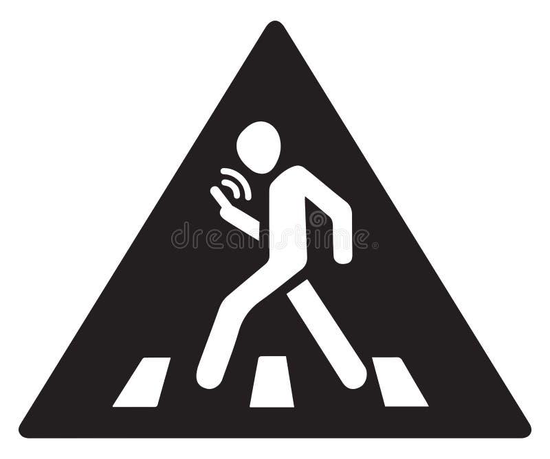 Mobiele telefoon Vector symbool royalty-vrije illustratie