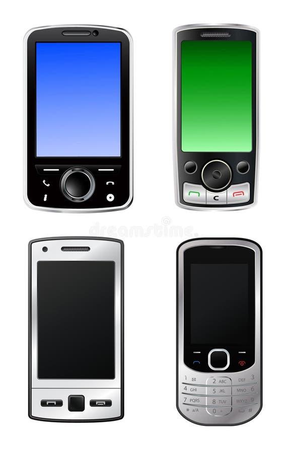 Mobiele telefoons royalty-vrije illustratie