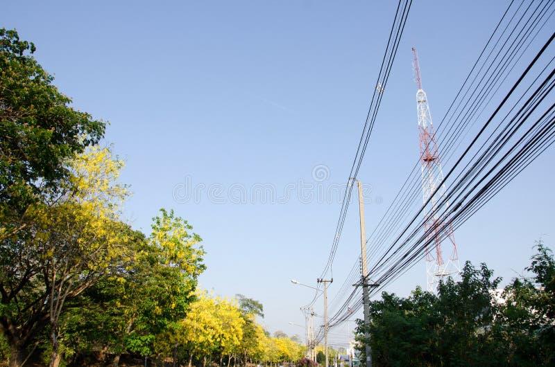 Mobiele torens/kant van de weg stock afbeelding