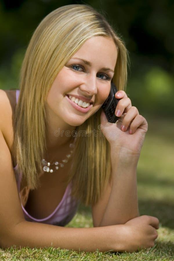 Mobiele zomer royalty-vrije stock fotografie