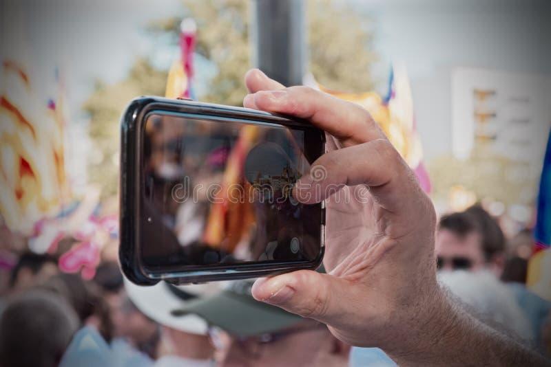 Mobil 11S2015 royaltyfria foton