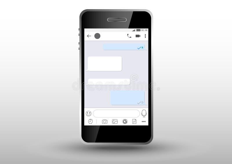 mobil applikationram för instagram vektor illustrationer