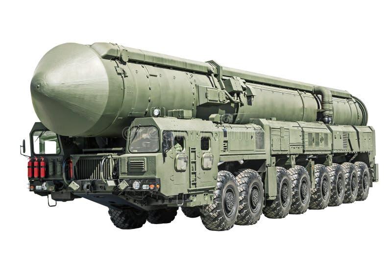 Mobil för interkontinental ballistisk missil royaltyfria foton