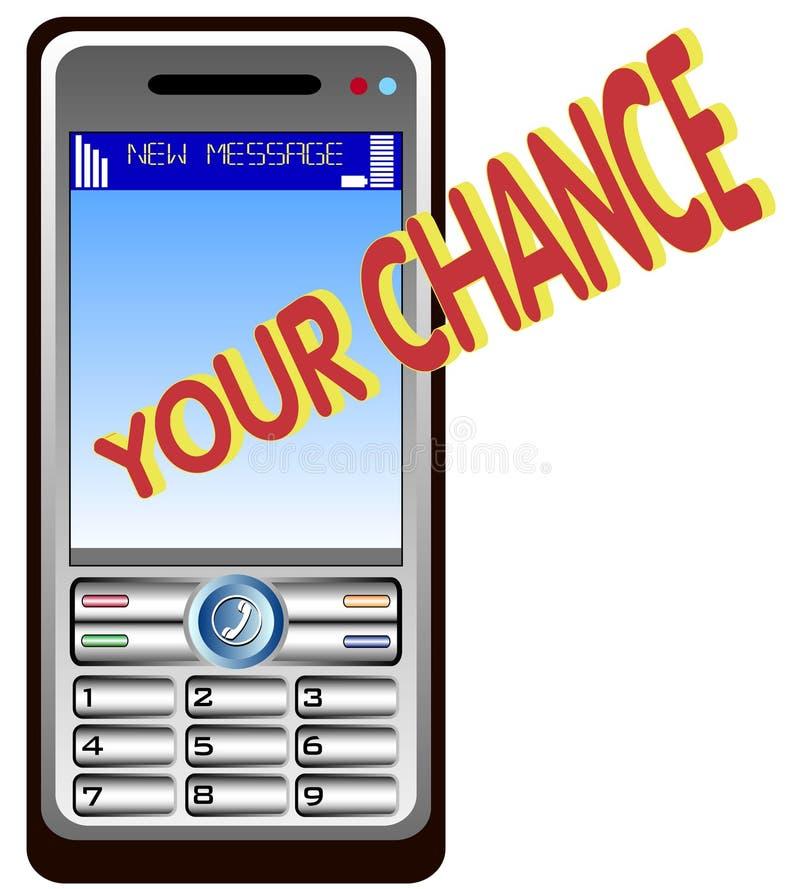 Mobil phone calling stock photos
