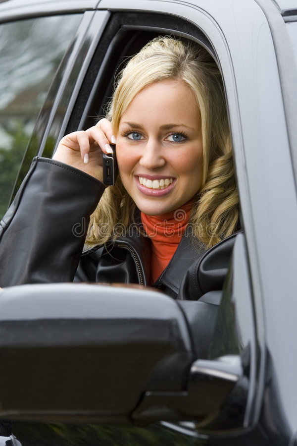 mobil phonecall arkivbilder