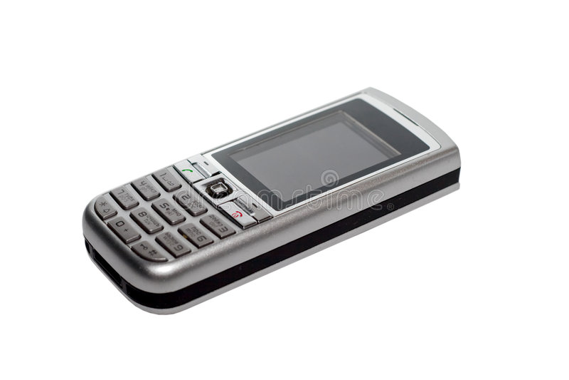 mobil telefon royaltyfri foto