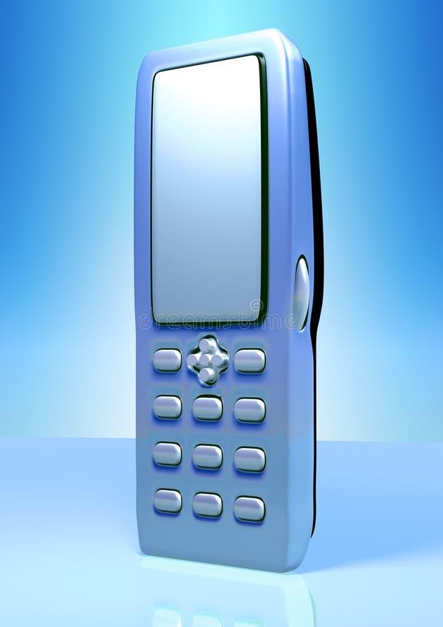 Download Mobil telefon stock illustrationer. Illustration av räknemaskin - 976597