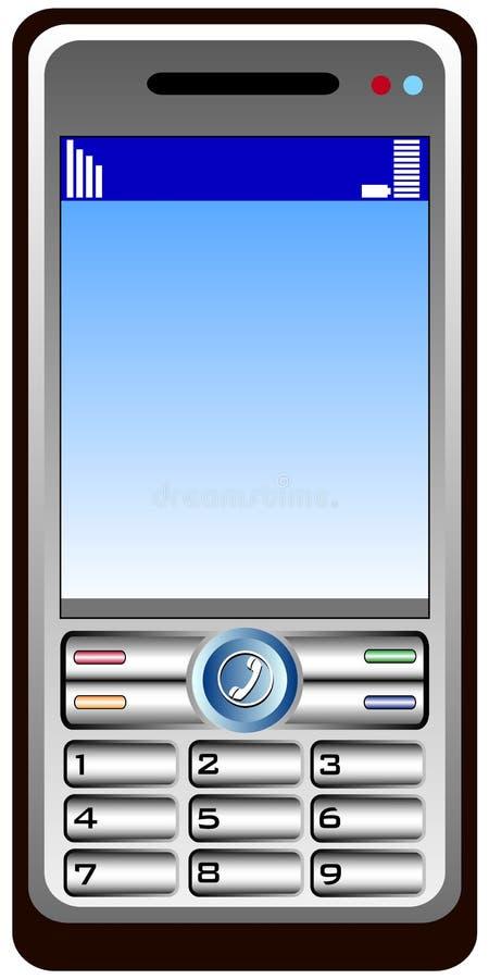 Mobil telefona libre illustration