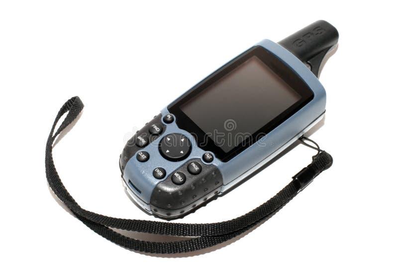 mobil trevlig mottagare för gps royaltyfria foton