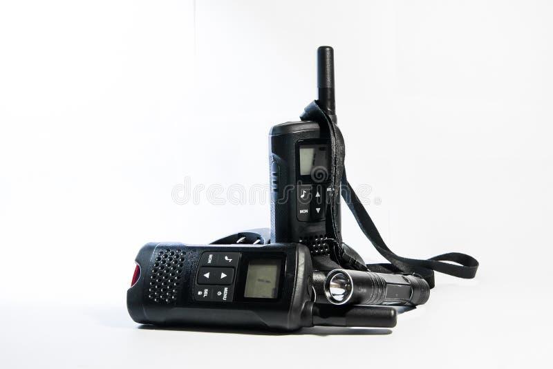 Mobil walkie-talkie royaltyfri fotografi