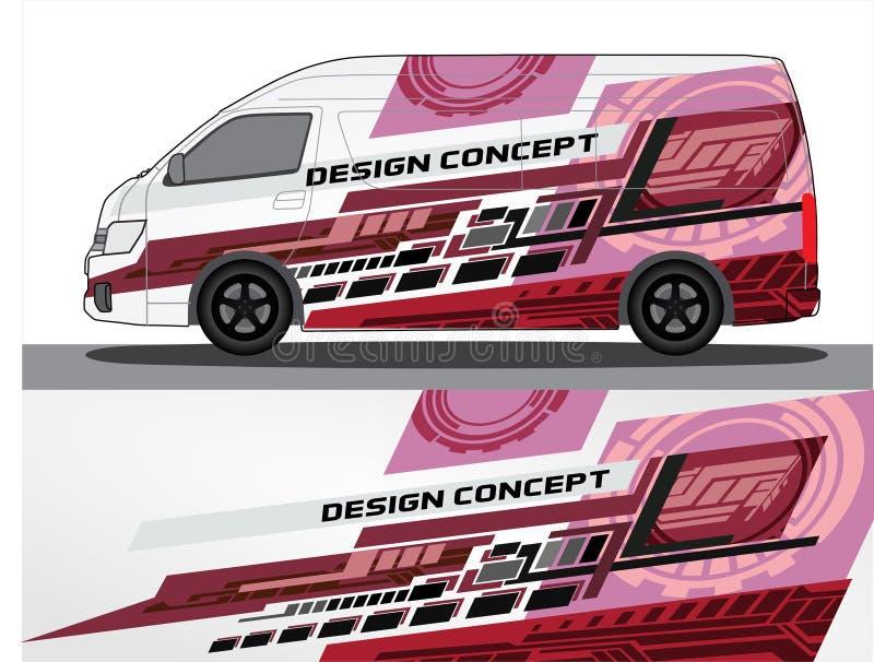 Vinyls Sticker Set Decals For Car Truck Mini Bus Stock Vector Illustration Of Contest Body 146983708